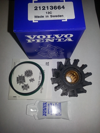 Volvo Penta 22307636 OEM Impeller - Replaces 21213664