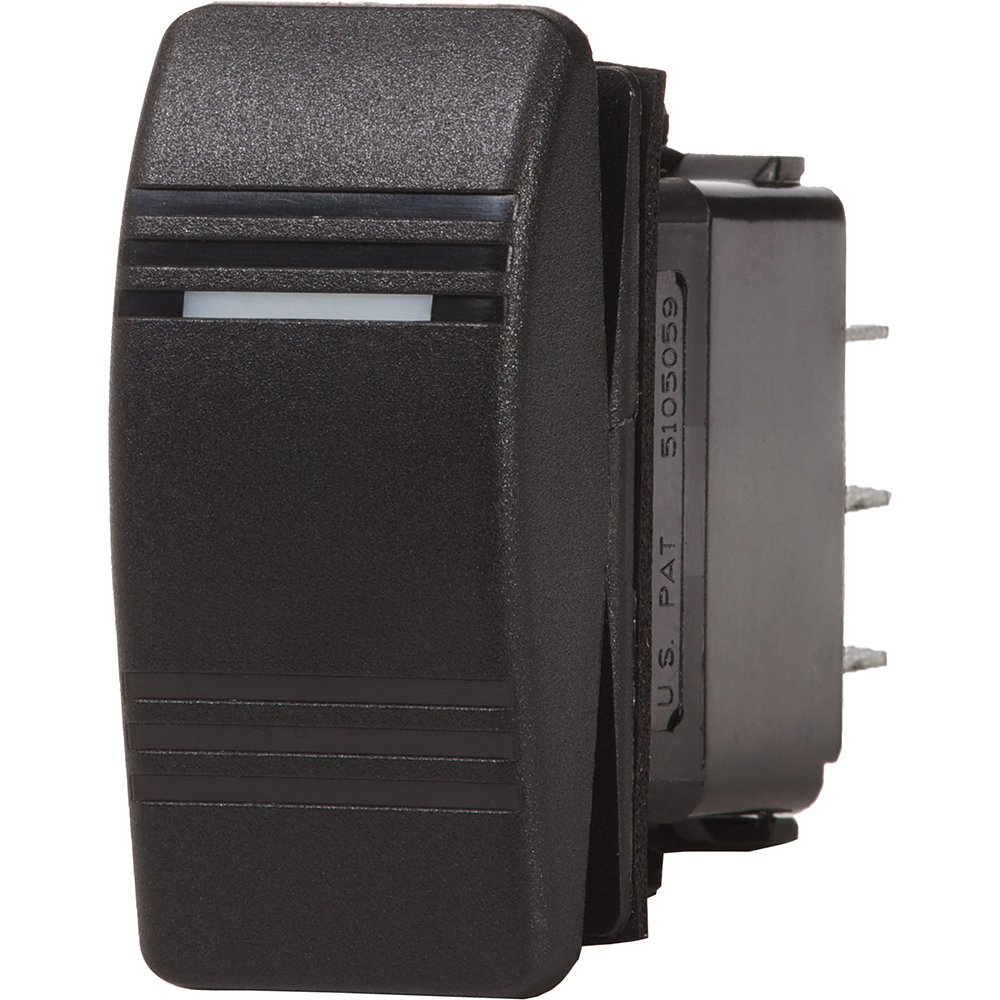 Blue Sea 8284 Water Resistant Contura III Switch - Black