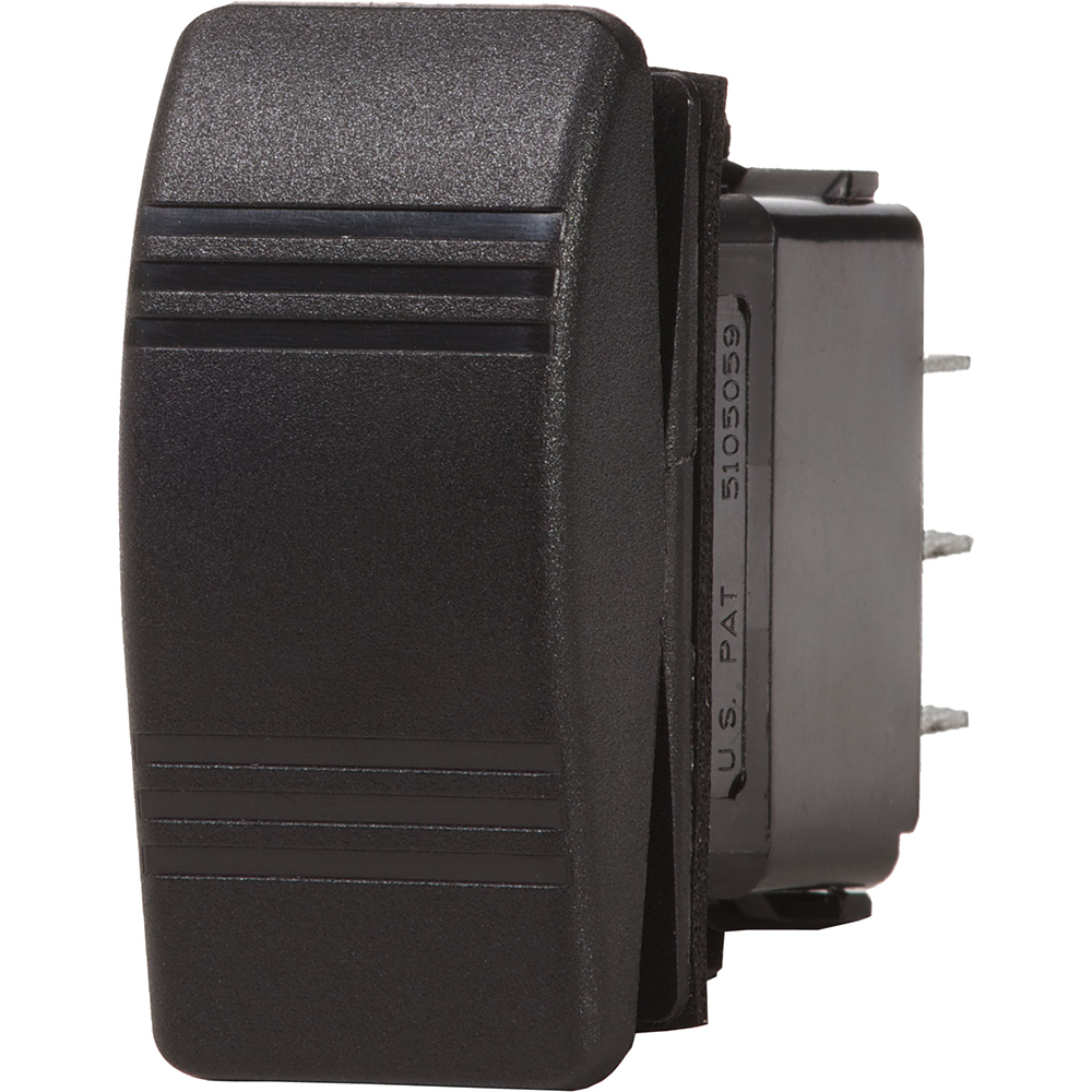 Blue Sea 8285 Water Resistant Contura III Switch - Black