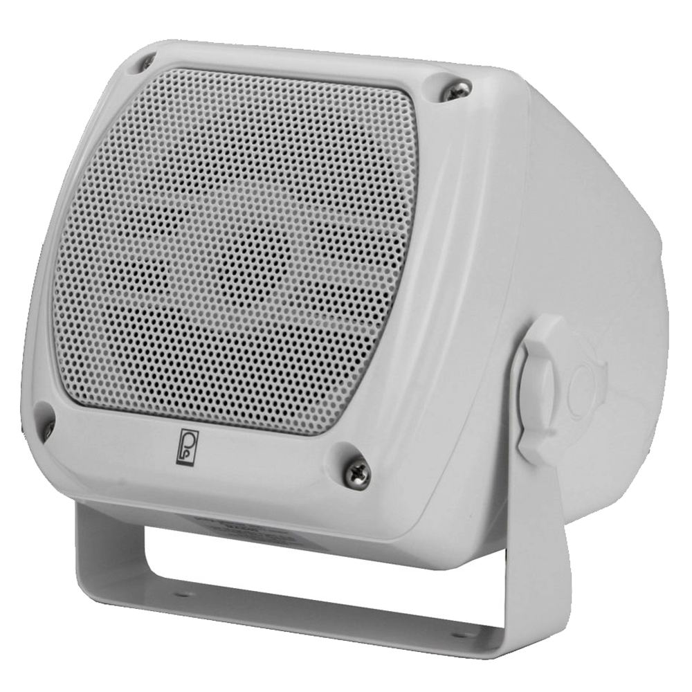 Poly-Planar Subcompact Box Speaker - (Pair) White