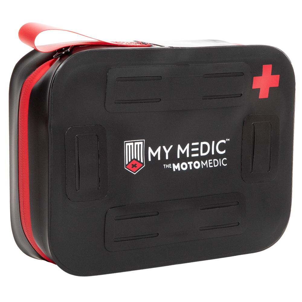 MyMedic Moto Medic Stormproof First Aid Kit - Black