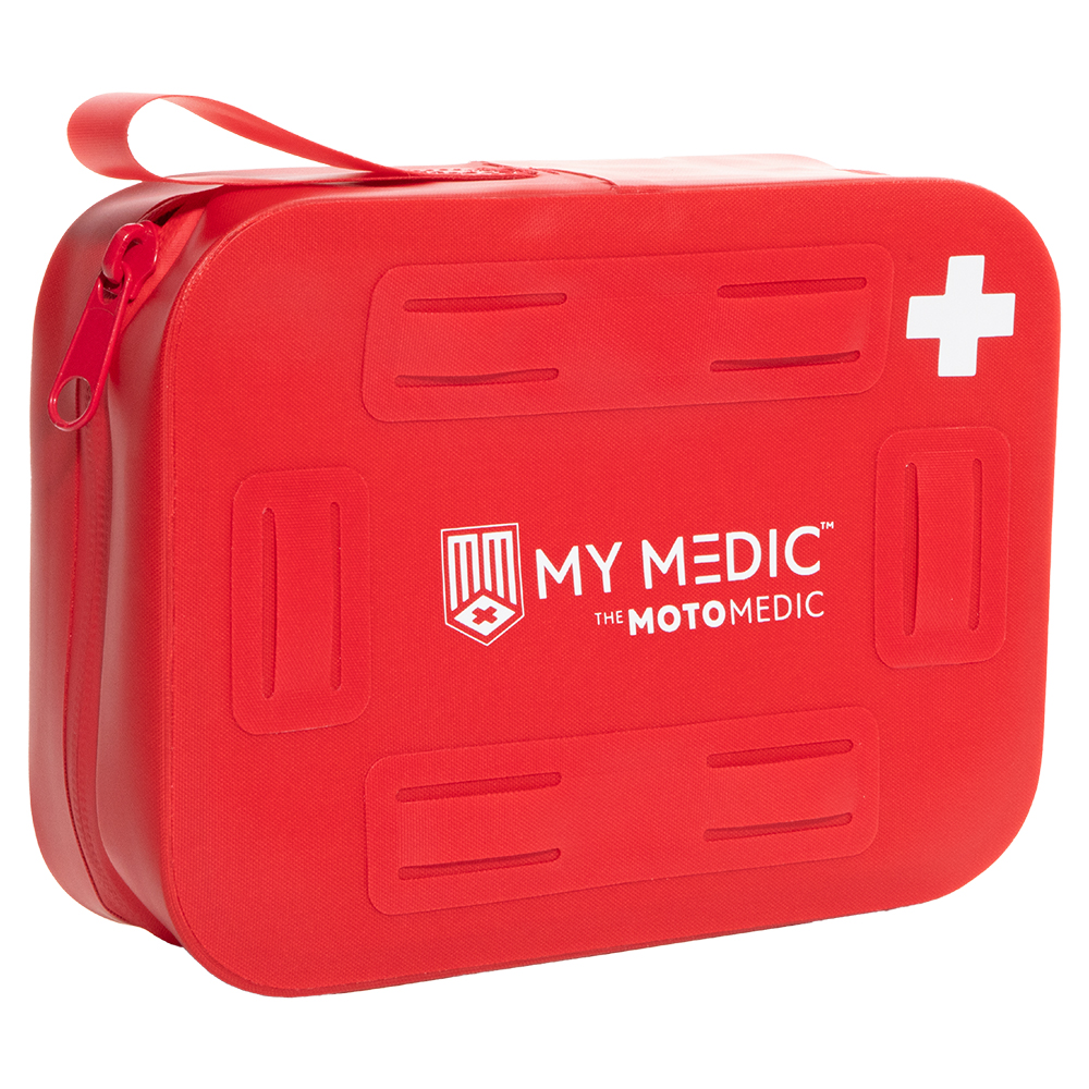 MyMedic Moto Medic Stormproof First Aid Kit - Red