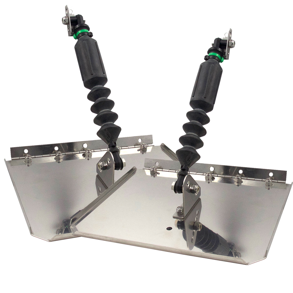 Nauticus ST1290-60 Smart Tab Trim Tabs 12 X 9 f/ 12-18' Boats w/60-150 HP