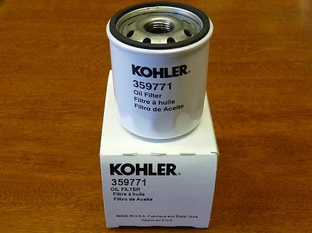 Kohler 359771 Oil Filter