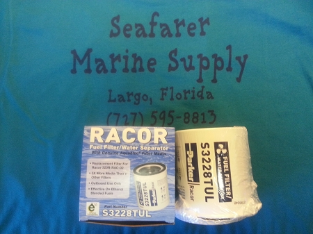 Racor S3228TUL 10 Micron Fuel Filter / Water Seperator