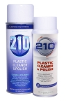 210 PLASTIC CLEANER & POLISH 14oz